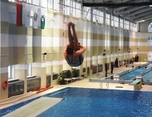 Обучение прыжкам в воду в Минске