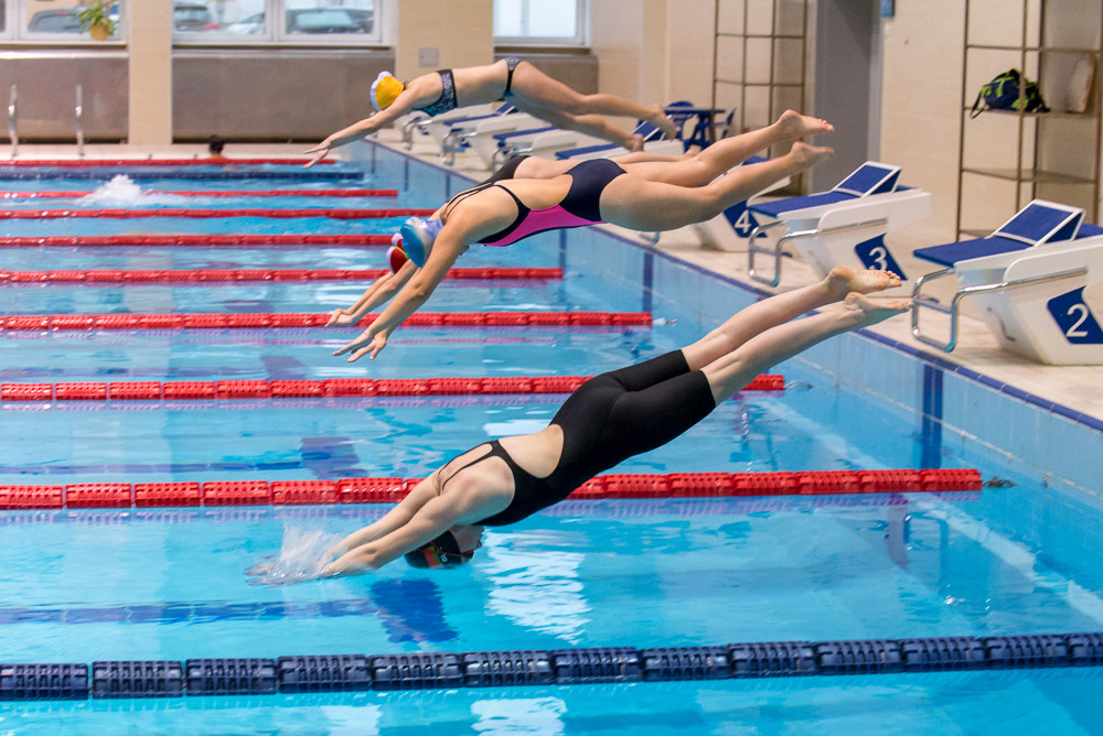 В БГУФК прошло первенство университета по плаванию среди студентов   0710
